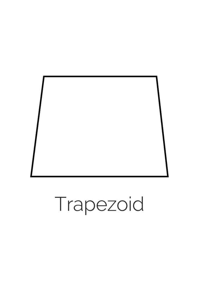 free printable trapezoid shape