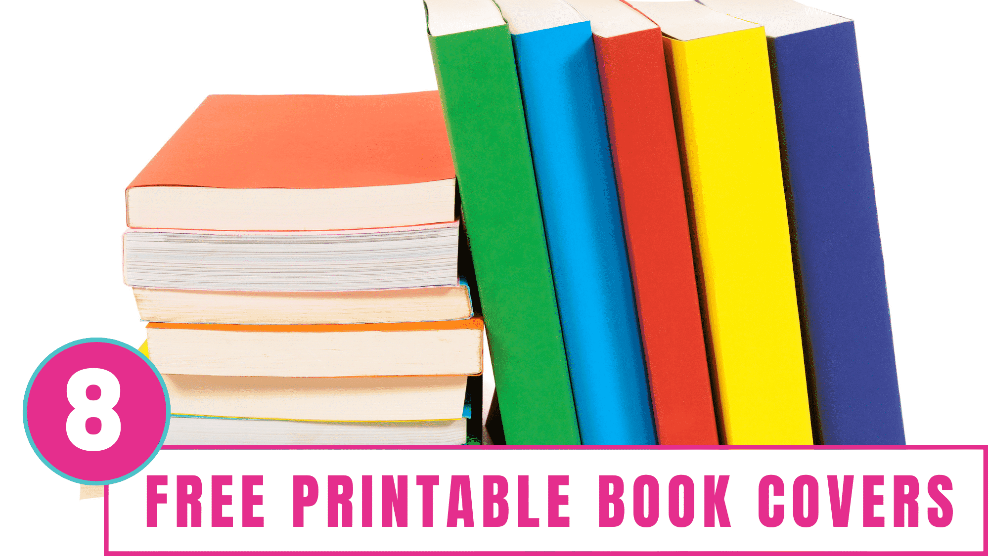 These free printable book covers will help your kid personalize their school books which may motivate them to use them more....maybe.