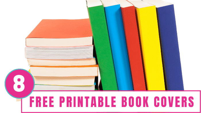Help the kids jazz up their school books by downloading these free printable book covers.