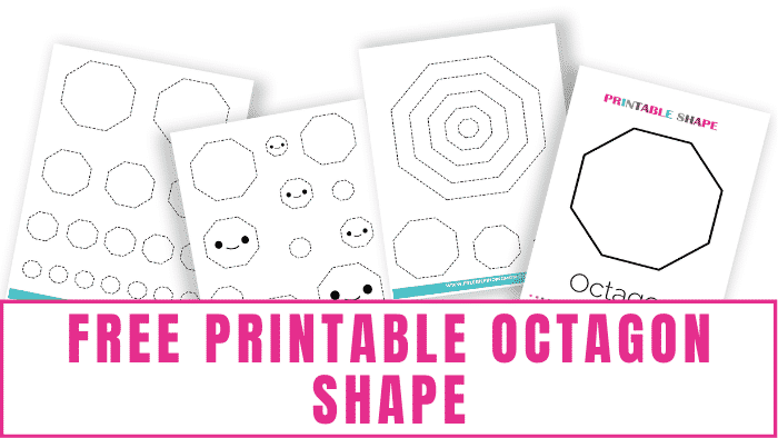Are your kids learning about the area of an octagon, angles, sides, and more? Here you'll learn about these items and snag a free printable octagon shape!