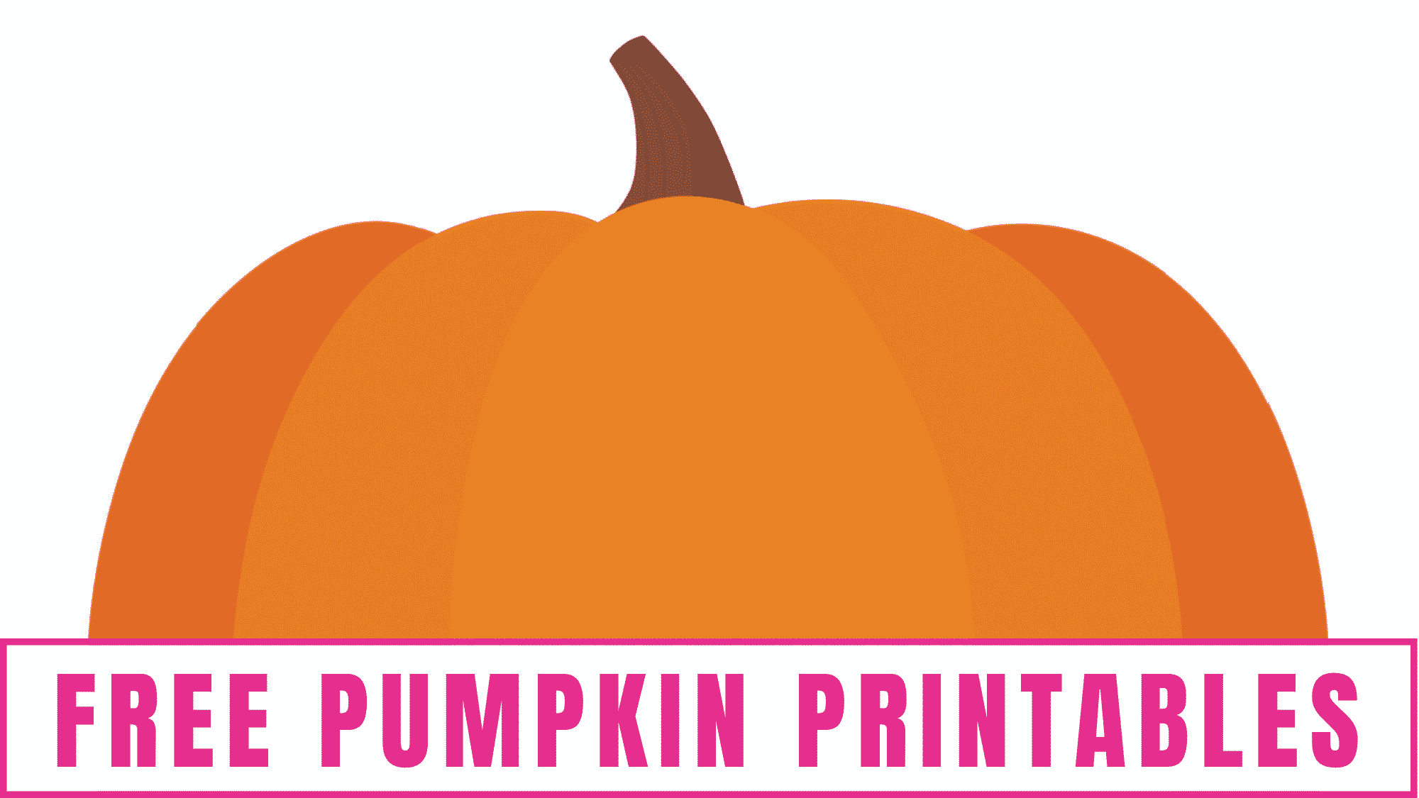 These free pumpkin printables can be used in Thanksgiving and Halloween crafts, as Thanksgiving and Halloween decorations, as Thanksgiving and Halloween coloring pages and much more!
