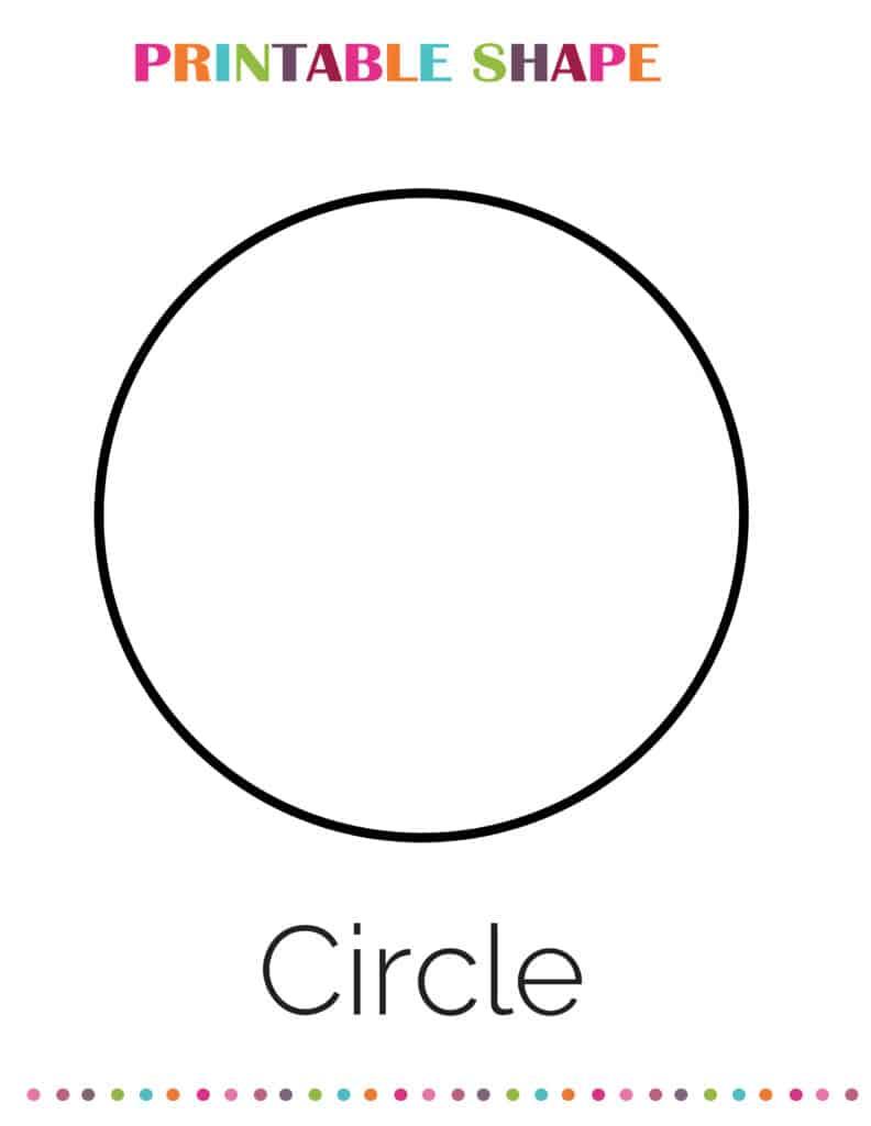 printable circle shapes coloring pages pdf