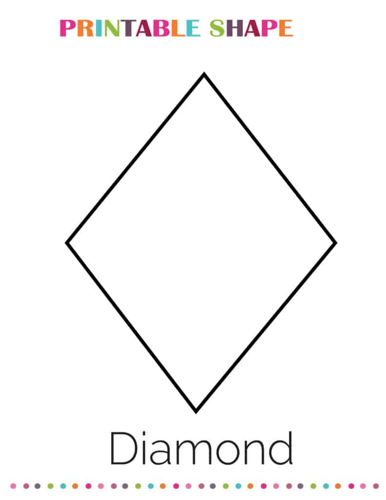 printable diamond shapes coloring pages pdf