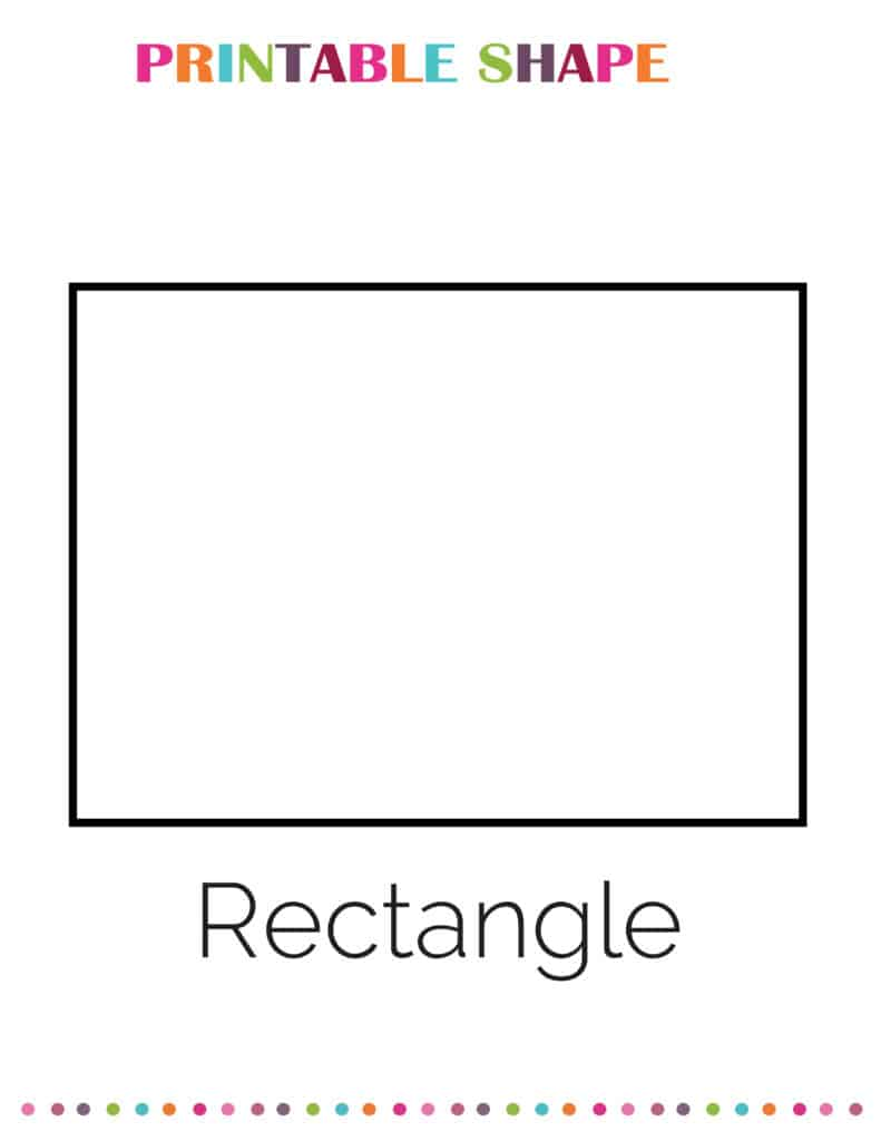 printable rectangle shapes coloring pages pdf