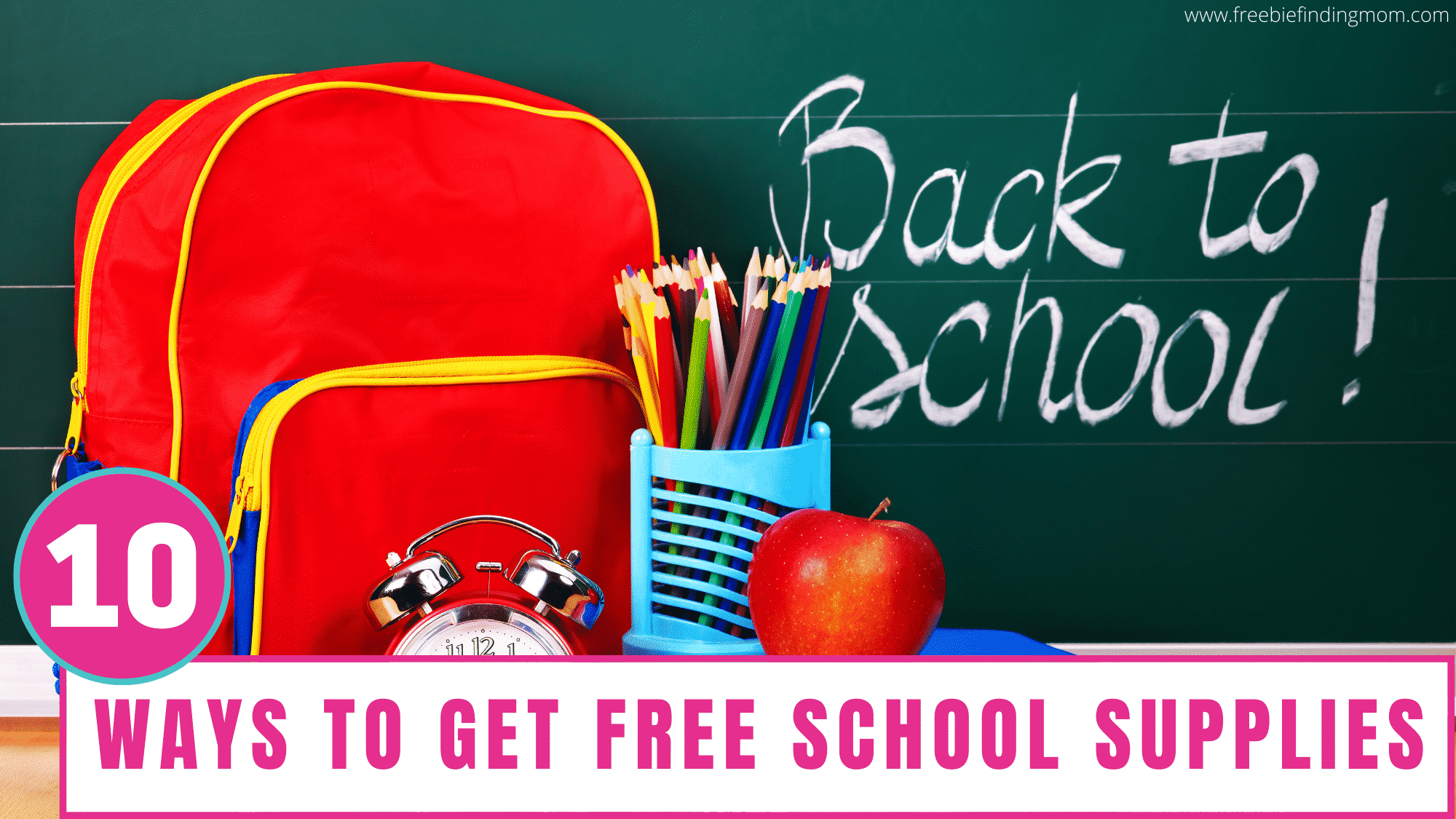 Is your budget bursting at the seams because of back to school shopping? Save money by using these ways to get free school supplies for your kid.