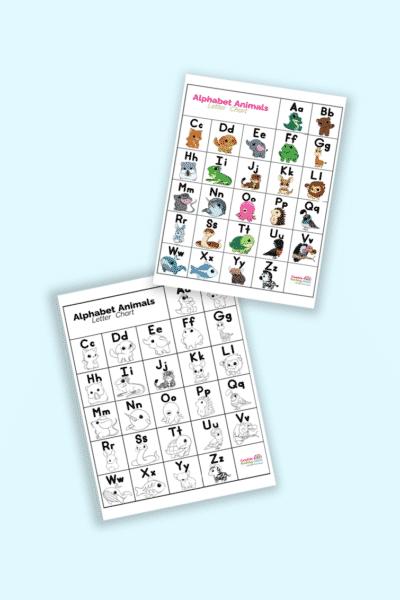 ABC chart printable for kids
