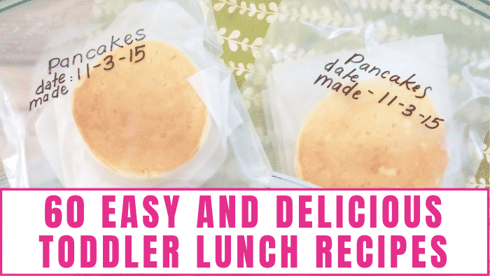 No time to make toddler lunch box ideas? Check out these easy and delicious toddler lunch recipes to save time.
