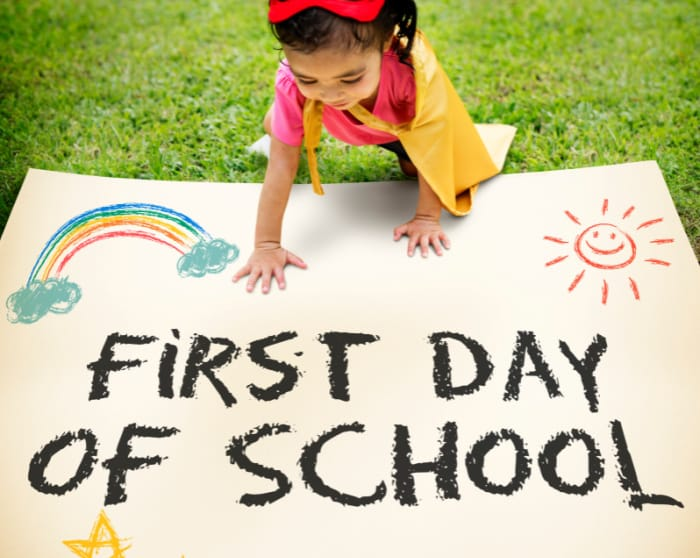 Whether your kid is excited or nervous for the first day of school, these first day of school quotes will help them. Write one of these quotes on a lunchbox note to brighten their day.