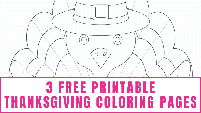 Need ways to keep the kids out of the kitchen as you prepare Thanksgiving dinner? Download these free printable Thanksgiving coloring pages, and hand them a box of crayons so they can go to work.