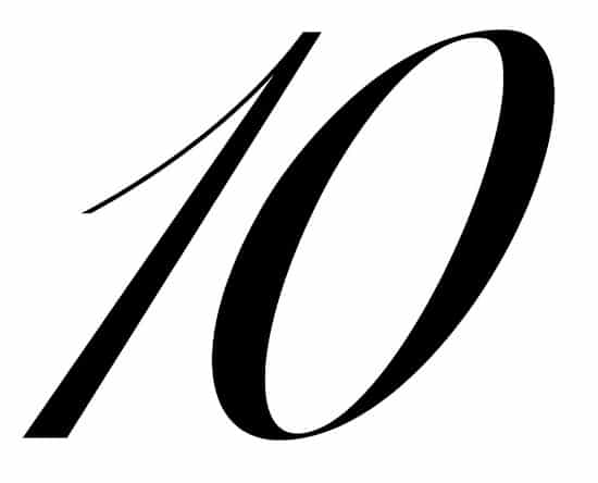 free printable fancy calligraphy numbers calligraphy number 10