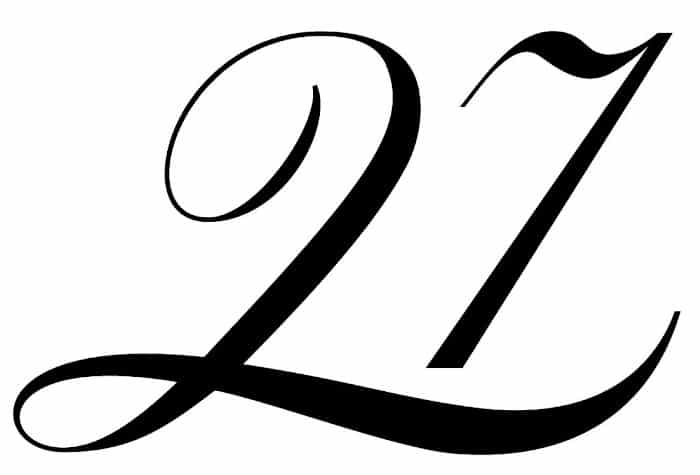 free printable fancy calligraphy numbers calligraphy number 27
