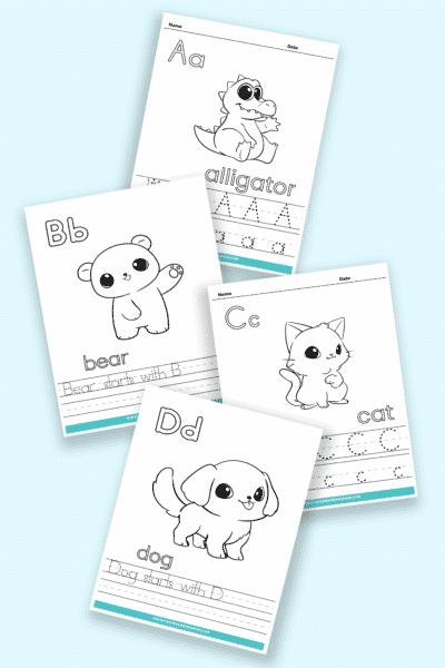printable kindergarten letter worksheets