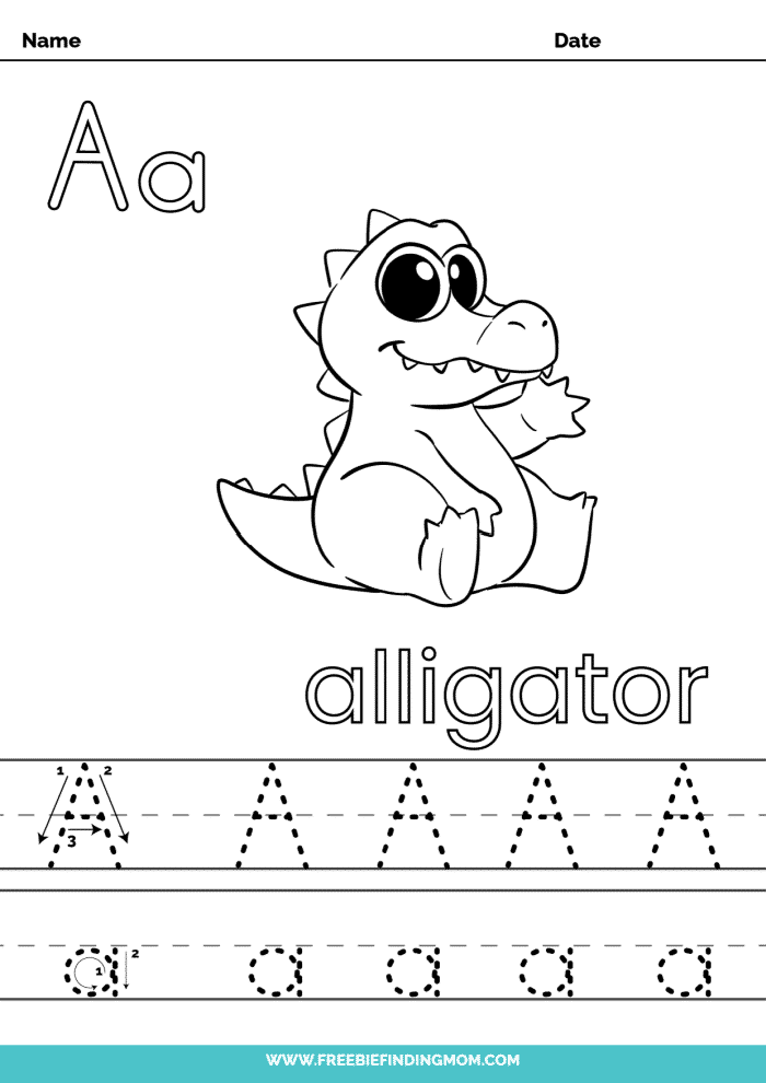 printable kindergarten letter worksheets A kindergarten letter tracing worksheets
