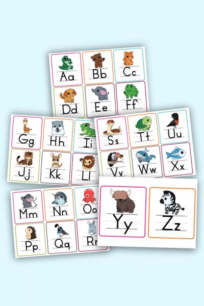 printable letter flashcards pdf downloads