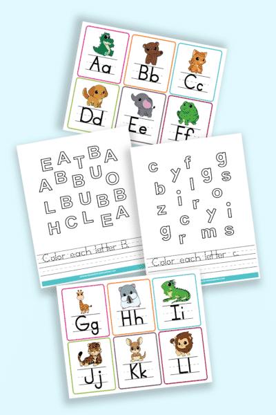 printable preschool letter worksheets