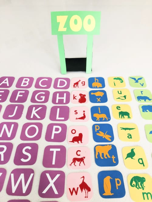 Your zoo ABC letter games preschool and kindergarten is complete and ready to play!