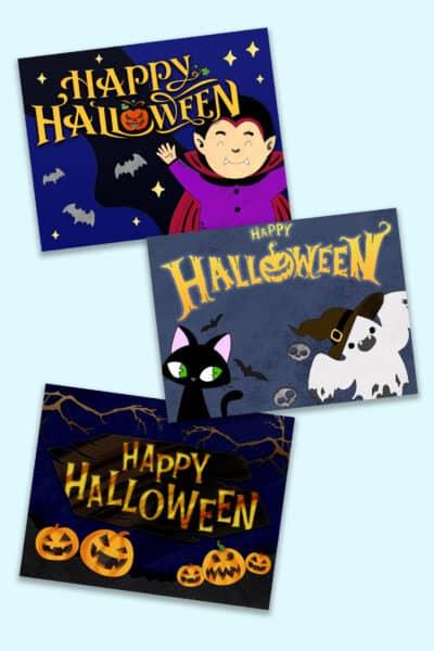 free Halloween signs printable downloads