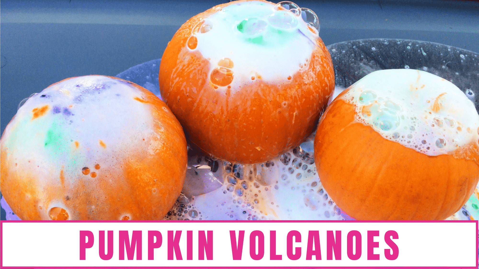 In addition to decorating your home for Halloween there are lots of other fun Halloween activities you can do with your kid like making these pumpkin volcano activities for preschoolers.